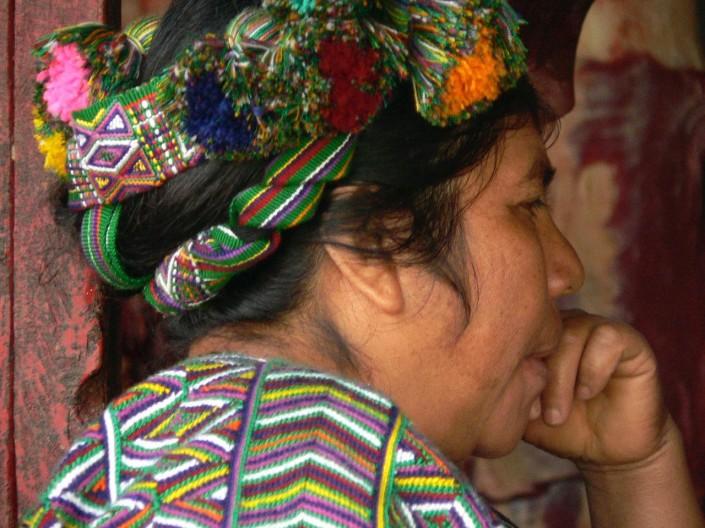 Pensive in Chacul, Guatemala