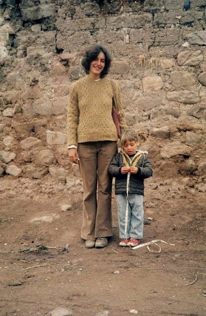 Andrea Aranow and Shad Todd, Peru, 1974