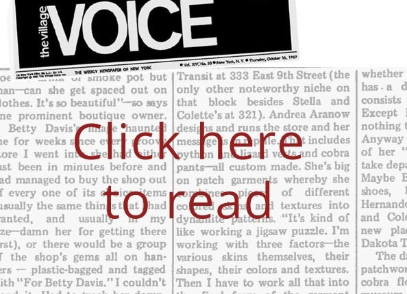 Villa Voice article: Click me to read